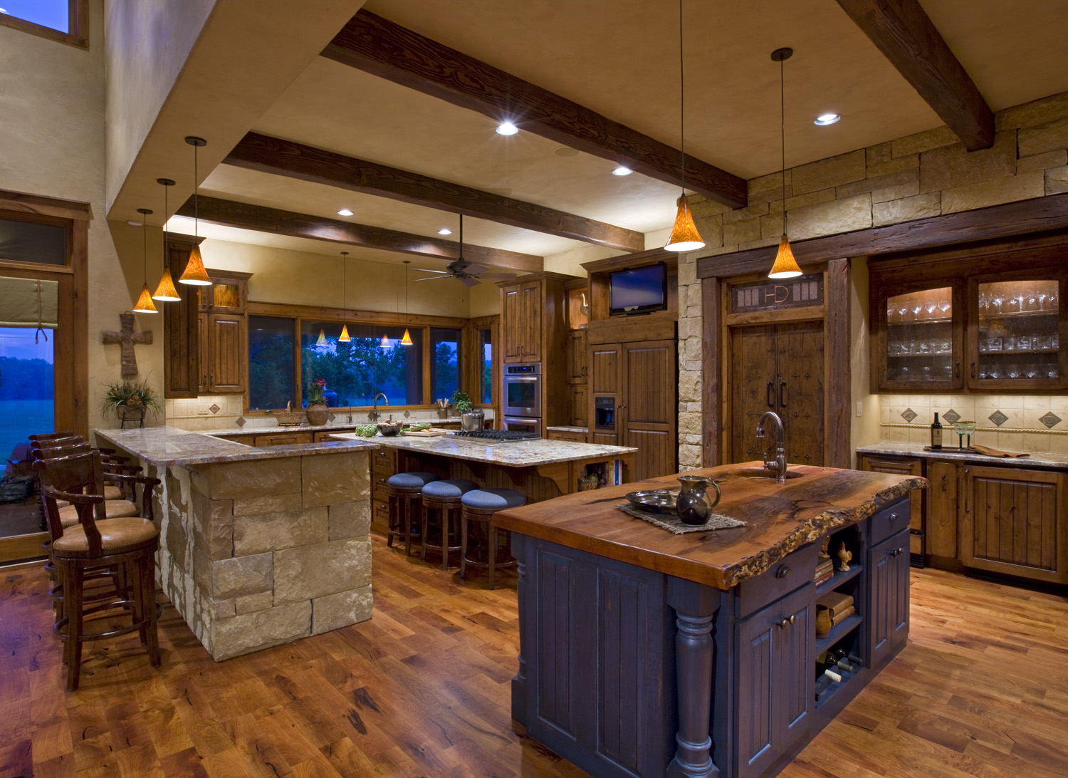 Texas ranch house linda mccalla interiors Home kitchen
